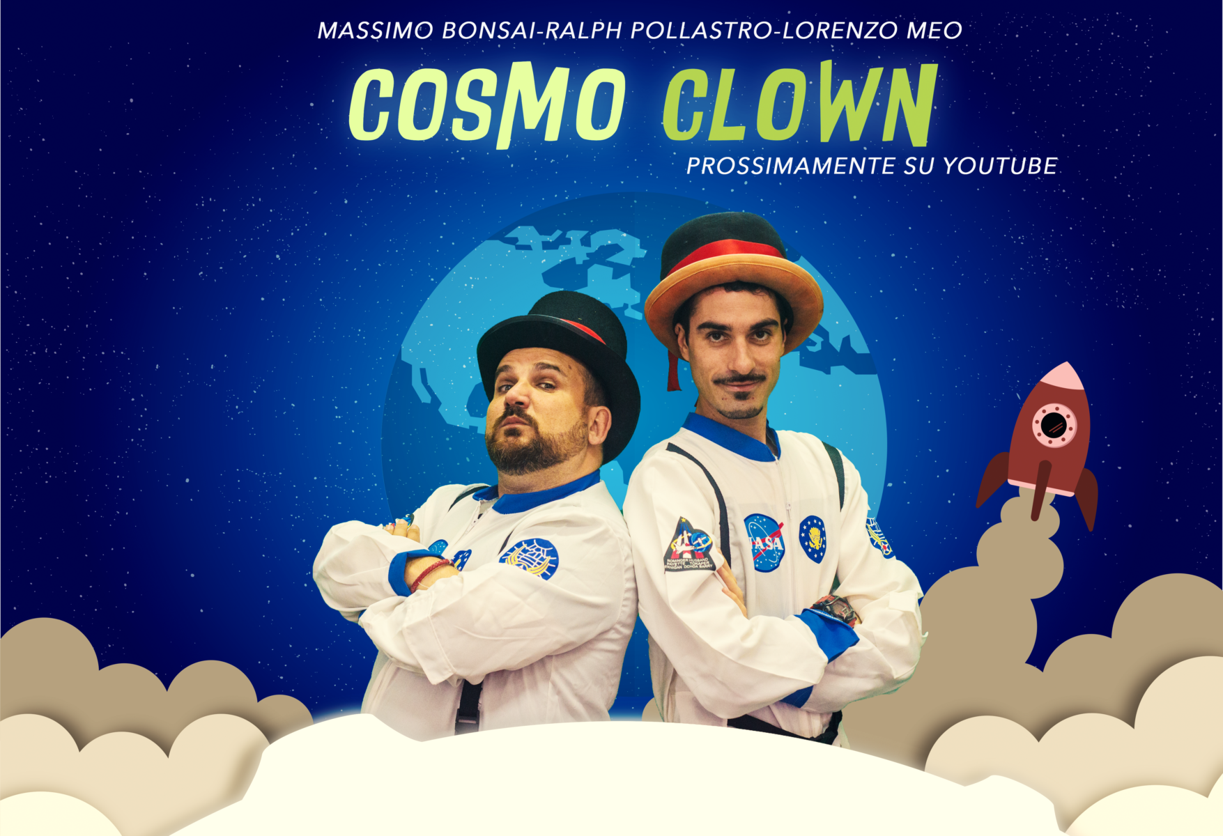Cosmo Clown sul pianeta terra